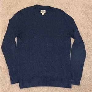 St John's Bay Knitted crewneck sweatshirt